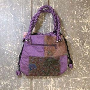 Made in Thailand. Silk bag